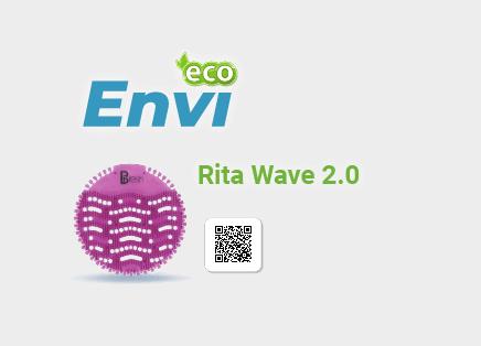 Tấm lót khử mùi bồn tiểu Rita Wave 2.0