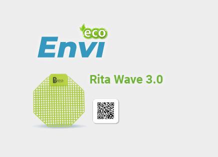 Tấm lót khử mùi bồn tiểu Rita Wave 3.0