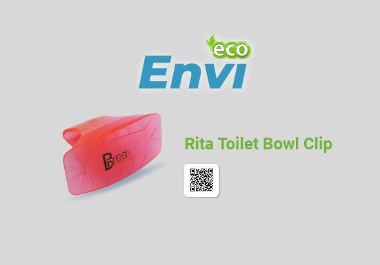 miếng khử mùi toilet dạng treo Rita Toilet Clip