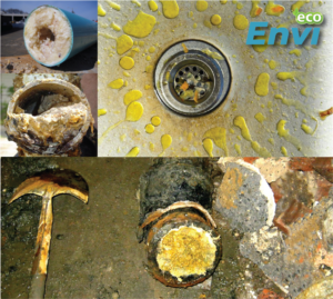 tác hại của dầu mỡ với đường ống