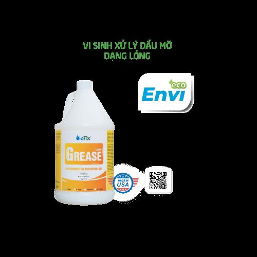 Vi sinh xử lý dầu mỡ dạng lỏng Biofix Grease