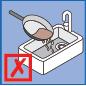 không đổ dầu mỡ vào bồn rửa